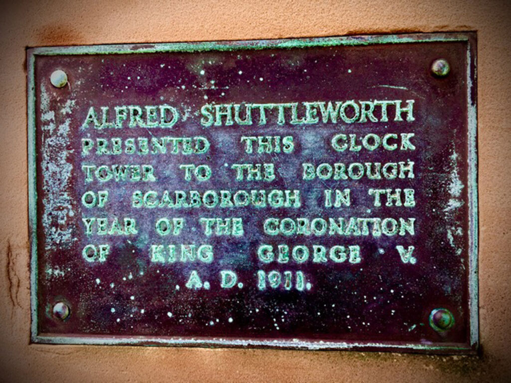 Clock Tower Plaque